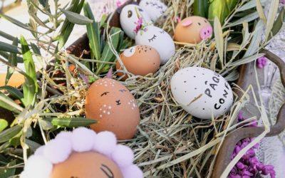 Atelier œufs de Pâques !